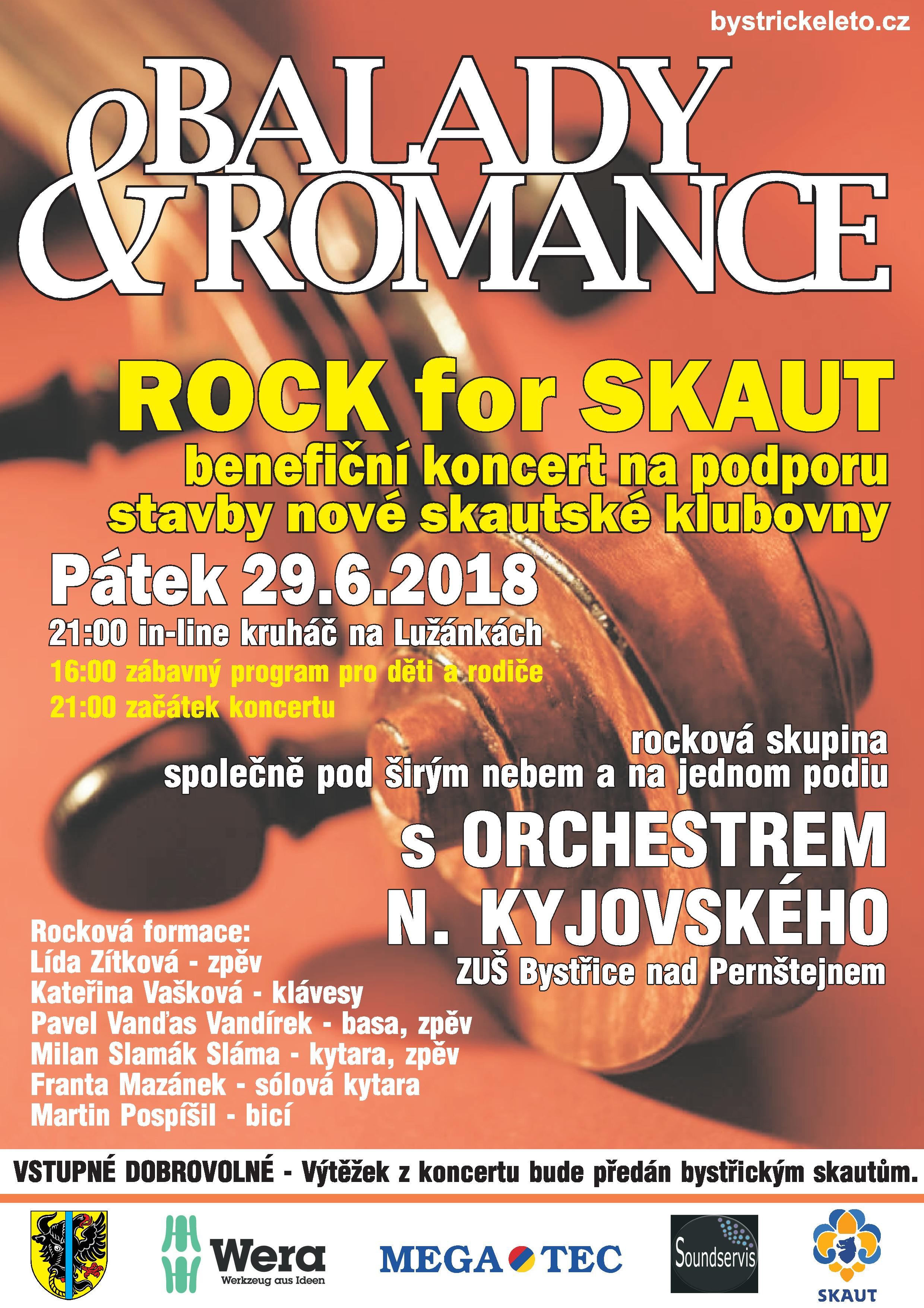 BALADY A ROMANCE - ROCK FOR SKAUT